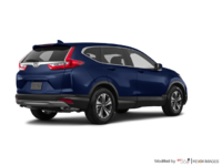 2017 Honda CR-V LX   Photo 2   Obsidian Blue Pearl