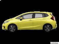 2017 Honda Fit EX-L NAVI   Photo 1   Mystic Yellow Pearl