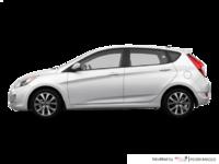 2017 Hyundai Accent 5 Doors SE | Photo 1 | Century White