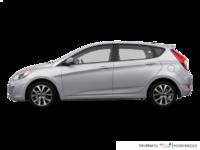 2017 Hyundai Accent 5 Doors SE | Photo 1 | Ironman Silver