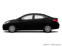 2017 Hyundai Accent Sedan LE | Photo 1 | Ultra Black
