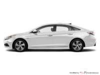 2017 Hyundai Sonata Hybrid LIMITED | Photo 1 | White