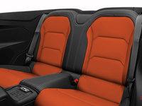 2018 Chevrolet Camaro convertible 2LT   Photo 2   Jet Black Leather with Orange Inserts (HUZ-A50)