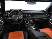 2018 Chevrolet Camaro convertible 2LT   Photo 3   Jet Black Leather with Orange Inserts (HUZ-A50)