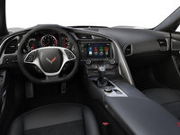 2018 Chevrolet Corvette Convertible Stingray 1LT | Photo 2 | Jet Black Competition Sport buckets Leather seating surfaces with sueded microfiber inserts (192-AE4)