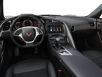 2018 Chevrolet Corvette Convertible Stingray 2LT | Photo 2 | Jet Black Competition Sport buckets Leather seating surfaces with sueded microfiber inserts (194-AE4)