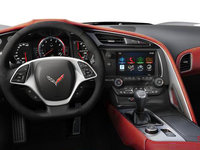 2018 Chevrolet Corvette Convertible Stingray 2LT | Photo 3 | Adrenaline Red Competition Sport buckets Leather seating surfaces with sueded microfiber inserts (704-AE4)