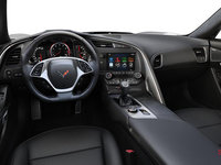 2018 Chevrolet Corvette Convertible Stingray 2LT | Photo 2 | Jet Black Competition Sport buckets Perforated Mulan leather seating surfaces (193-AE4)