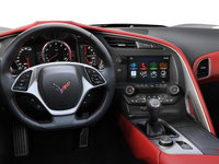 2018 Chevrolet Corvette Convertible Stingray 2LT | Photo 3 | Adrenaline Red Competition Sport buckets Perforated Mulan leather seating surfaces (703-AE4)