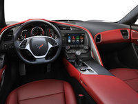 2018 Chevrolet Corvette Convertible Stingray 2LT | Photo 2 | Adrenaline Red Competition Sport buckets Perforated Mulan leather seating surfaces (703-AE4)