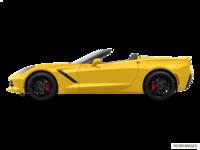 2018 Chevrolet Corvette Convertible Stingray Z51 3LT | Photo 1 | Corvette Racing Yellow Tintcoat