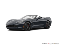 2018 Chevrolet Corvette Convertible Stingray Z51 3LT | Photo 3 | Watkins Glen Grey Metallic