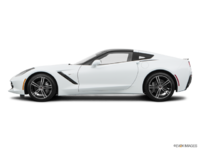 2018 Chevrolet Corvette Coupe Stingray 3LT | Photo 1 | Arctic White