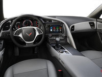 2018 Chevrolet Corvette Coupe Stingray 3LT | Photo 2 | Grey Competition Sport buckets Leather seating surfaces with sueded microfiber inserts (146-AE4)