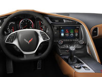 2018 Chevrolet Corvette Coupe Stingray 3LT | Photo 3 | Kalahari Competition Sport buckets Leather seating surfaces with sueded microfiber inserts (346-AE4)