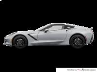 2018 Chevrolet Corvette Coupe Stingray Z51 1LT | Photo 1 | Blade Silver Metallic