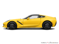 2018 Chevrolet Corvette Coupe Stingray Z51 1LT | Photo 1 | Corvette Racing Yellow Tintcoat
