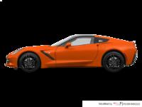 2018 Chevrolet Corvette Coupe Stingray Z51 1LT | Photo 1 | Sebring Orange Tintcoat