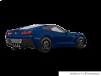 2018 Chevrolet Corvette Coupe Stingray Z51 1LT | Photo 2 | Admiral Blue Metallic