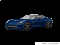 2018 Chevrolet Corvette Coupe Stingray Z51 1LT | Photo 3 | Admiral Blue Metallic