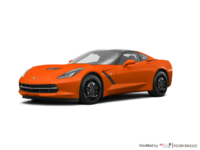 2018 Chevrolet Corvette Coupe Stingray Z51 1LT | Photo 3 | Sebring Orange Tintcoat