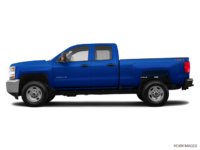 2018 Chevrolet Silverado 2500HD WT   Photo 1   Deep Ocean Blue Metallic