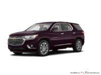 2018 Chevrolet Traverse PREMIER   Photo 3   Black Currant Metallic