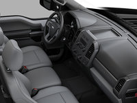 2018 Ford Chassis Cab F-450 XL   Photo 1   Medium Earth Grey HD Vinyl Bench (AS)