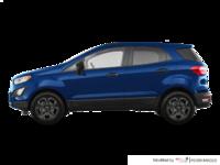 2018 Ford Ecosport S   Photo 1   Lightning Blue