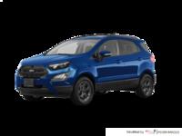 2018 Ford Ecosport SES   Photo 3   Lightning Blue