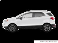 2018 Ford Ecosport TITANIUM | Photo 1 | White Platinum Metallic