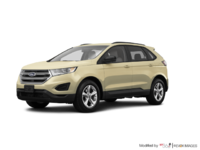 2018 Ford Edge SE   Photo 3   White Gold