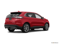 2018 Ford Edge TITANIUM   Photo 2   Ruby Red Metallic Tinted Clearcoat
