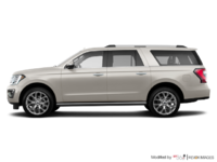 2018 Ford Expedition LIMITED MAX | Photo 1 | White Gold