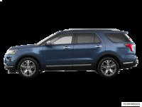 2018 Ford Explorer PLATINUM | Photo 1 | blue metallic