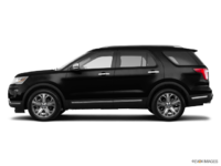 2018 Ford Explorer PLATINUM | Photo 1 | Shadow Black