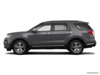 2018 Ford Explorer PLATINUM | Photo 1 | Magnetic Metallic