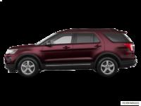 2018 Ford Explorer XLT | Photo 1 | Burgundy Velvet Metallic