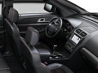 2018 Ford Explorer XLT | Photo 1 | Ebony Black with Fire Orange Contrast Stitching