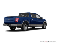 2018 Ford F-150 LARIAT   Photo 2   Blue Jeans Metallic/Stone Grey
