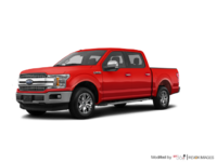 2018 Ford F-150 LARIAT   Photo 3   Race Red