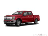 2018 Ford F-150 LARIAT   Photo 3   Ruby Red Metallic