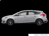 2018 Ford Focus Hatchback SEL   Photo 1   Ingot Silver Metallic