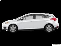 2018 Ford Focus Hatchback TITANIUM | Photo 1 | White Platinum Metallic