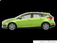 2018 Ford Focus Hatchback TITANIUM | Photo 1 | Outrageous Green Metallic