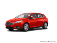 2018 Ford Focus Hatchback TITANIUM | Photo 3 | Hot Pepper Red Metallic