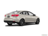 2018 Ford Focus Sedan SEL   Photo 2   White Gold