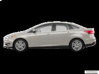 2018 Ford Focus Sedan TITANIUM | Photo 1 | White Gold