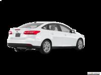 2018 Ford Focus Sedan TITANIUM | Photo 2 | White Platinum Metallic
