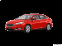 2018 Ford Focus Sedan TITANIUM | Photo 3 | Hot Pepper Red Metallic